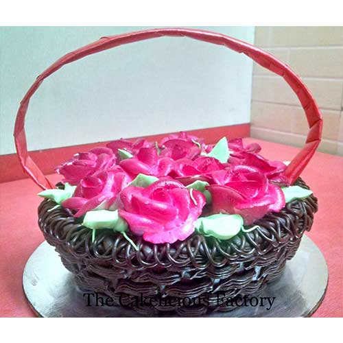 Truffle Flower Basket