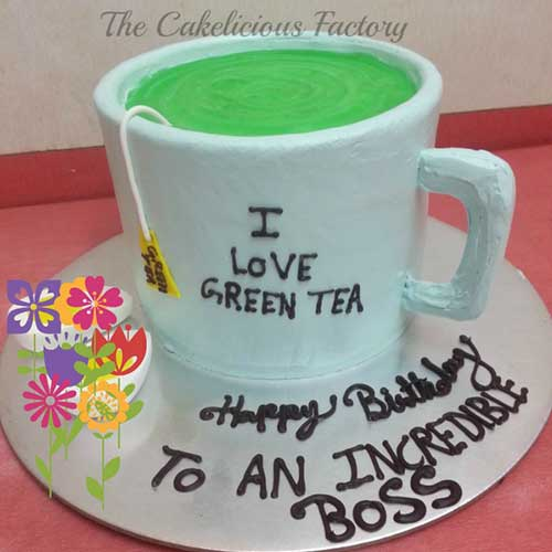 Green Tea Lover's Cake