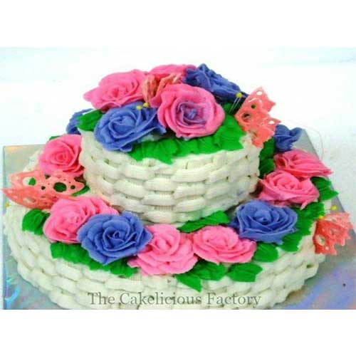 The Big Bouquet Cake