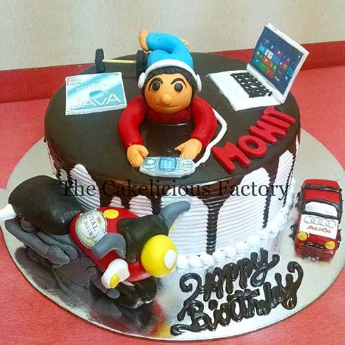 Smart Boy's Cake