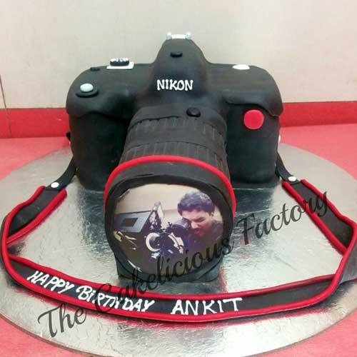 DSLR Camera Theme Cake