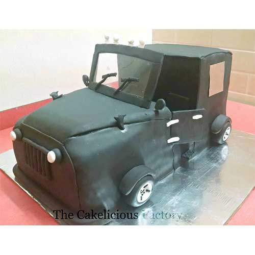 Jeep Theme Cake