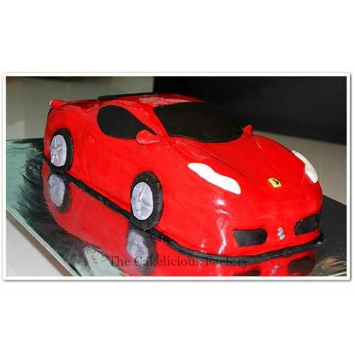Car Theme Cake 1