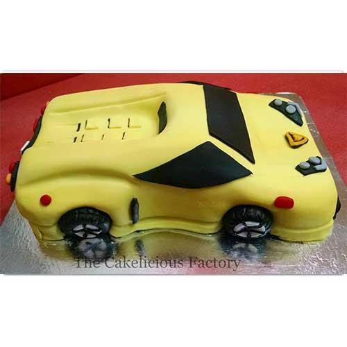 Car Theme Cake 2