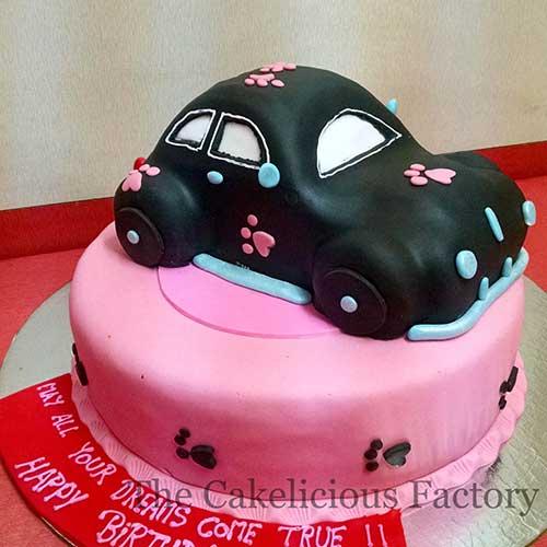 Car Theme Cake 3