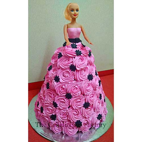 Barbie Doll Cake 1