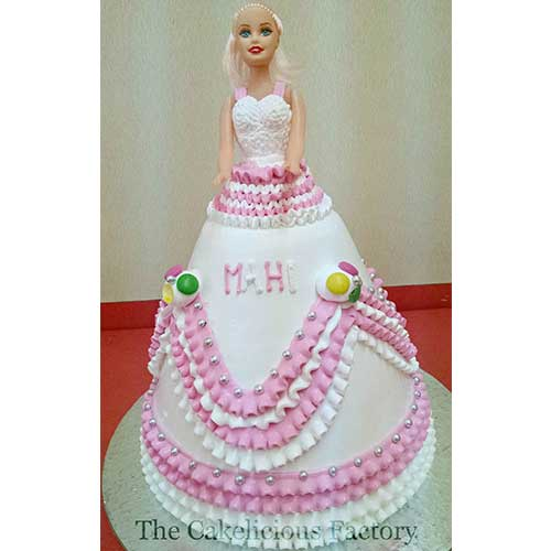 Barbie Doll Cake Two