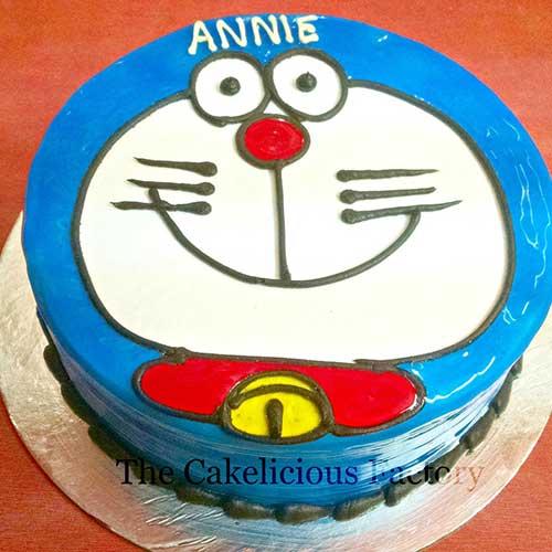 Doremon Face Cake