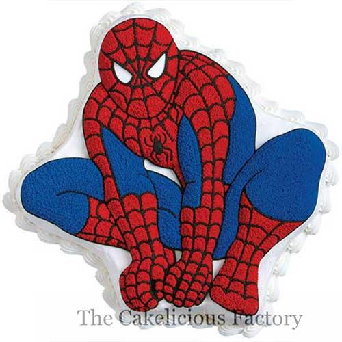 Spiderman Full Body Cake