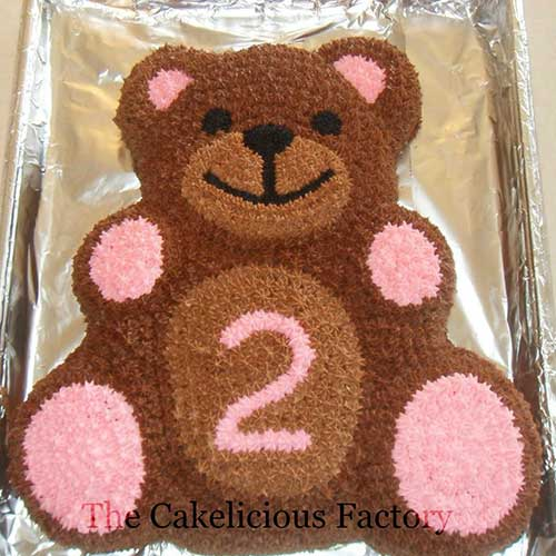 Teddy Bear Full BodyCake