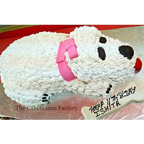 Dog Cake 2