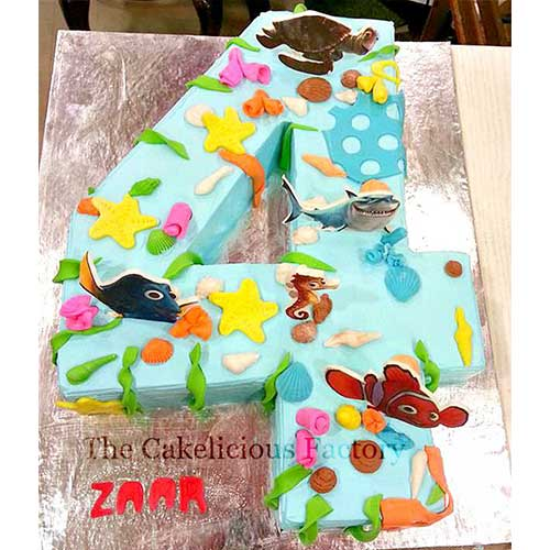Number Cake Theme Two