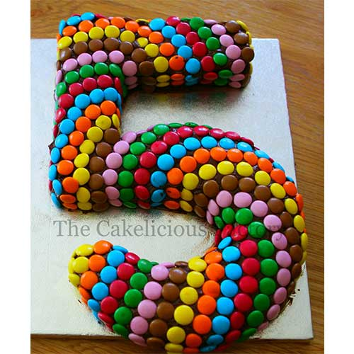 Number Cake Theme Six