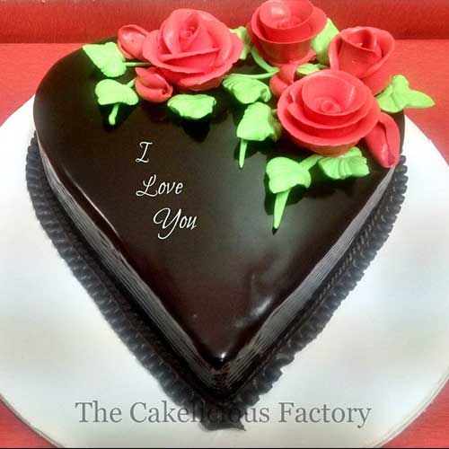 Heart Shaped Cake Design 8