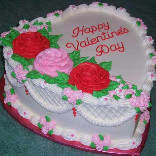 Valentine Cake  Seven