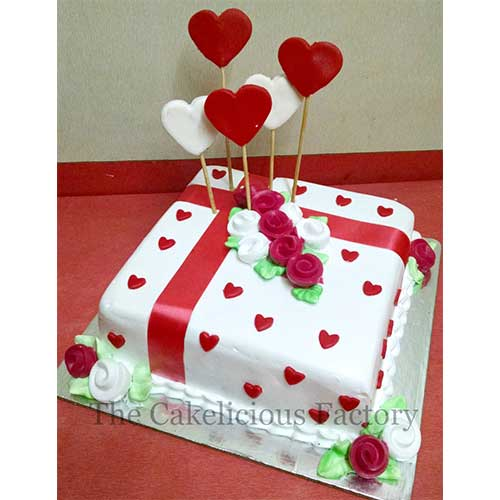 Valentine Cake Ten