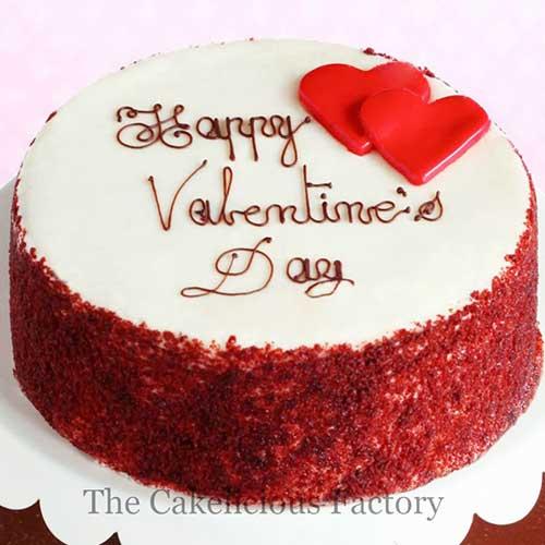 Red Velvet Vanilla Icing Cake 17