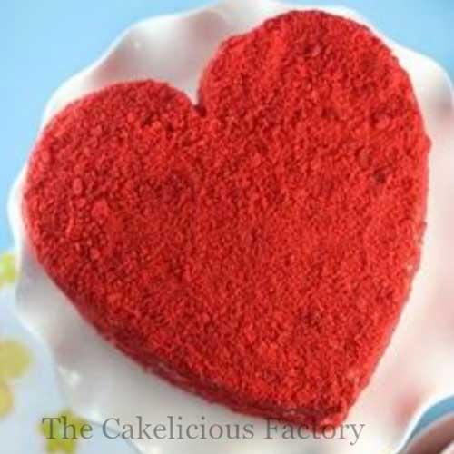 Red Velvet Vanilla Icing Cake Nineteen