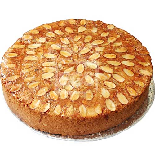 Vanilla Almond Dry Cake