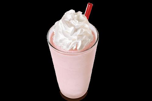 Strawberry Crush Milkshake
