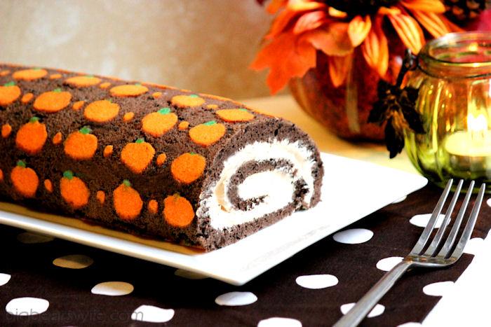 Chocolate Orange Swiss Roll Pastry