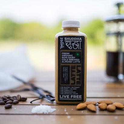 Non - Dairy Almond Milk Coffee Latte (250 ml)