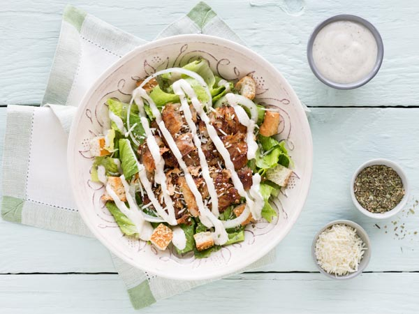 Chicken Doner Ceasar Salad