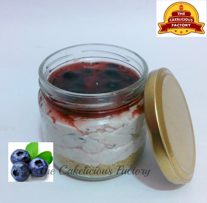 Blueberry Cheesecake Jar