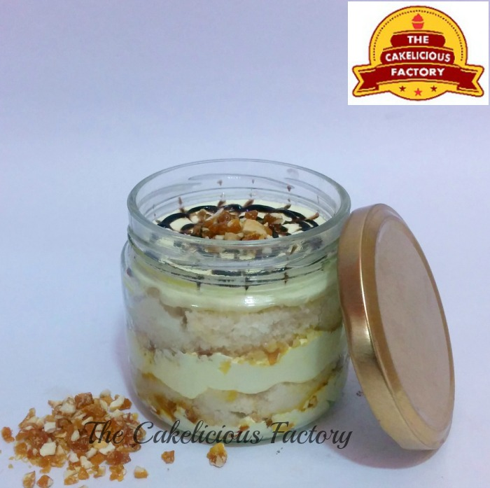Crunchy Butterscotch Jar