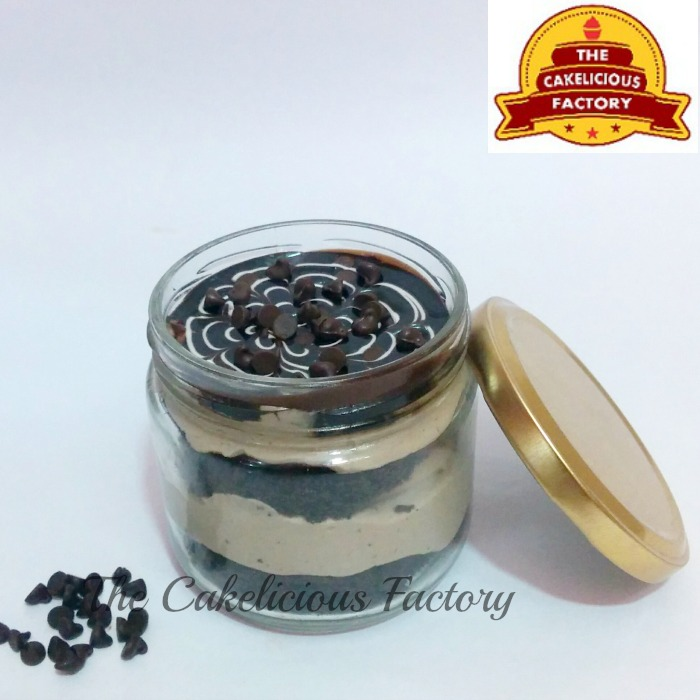 Chocolate Chips Cake Jar