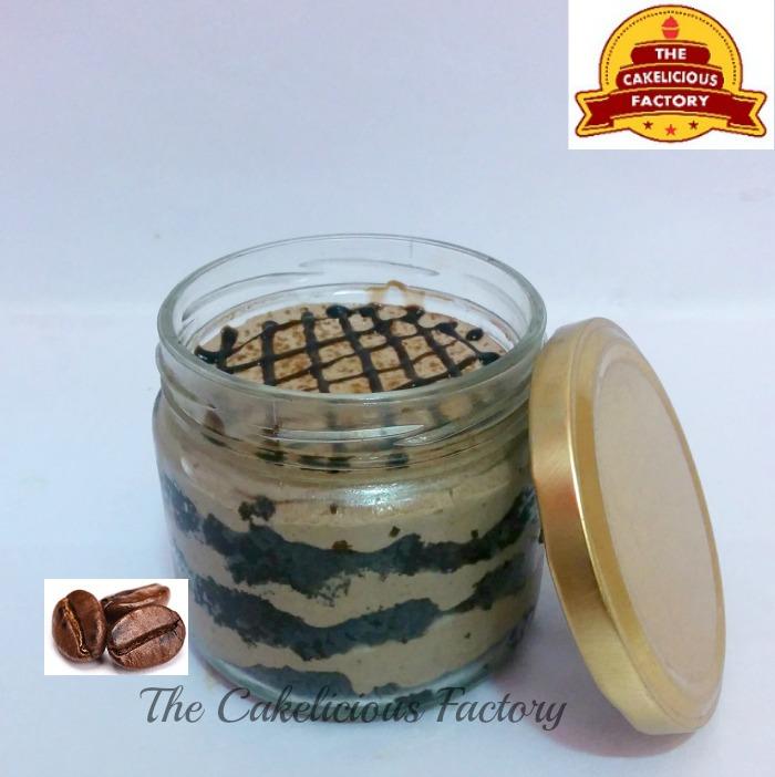 Choco Caffechino Cake Jar