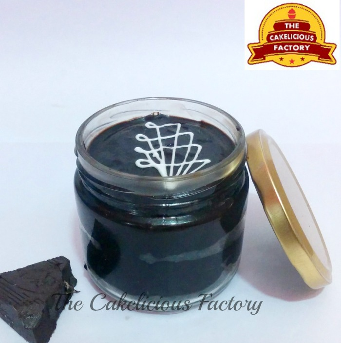 Dark Chocolate Truffle Jar