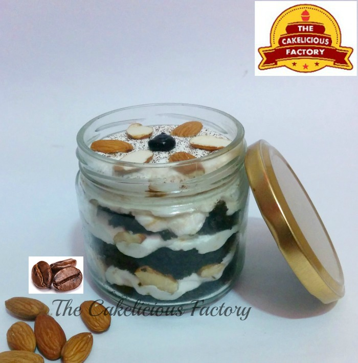 Coffee Almond Cake Jar