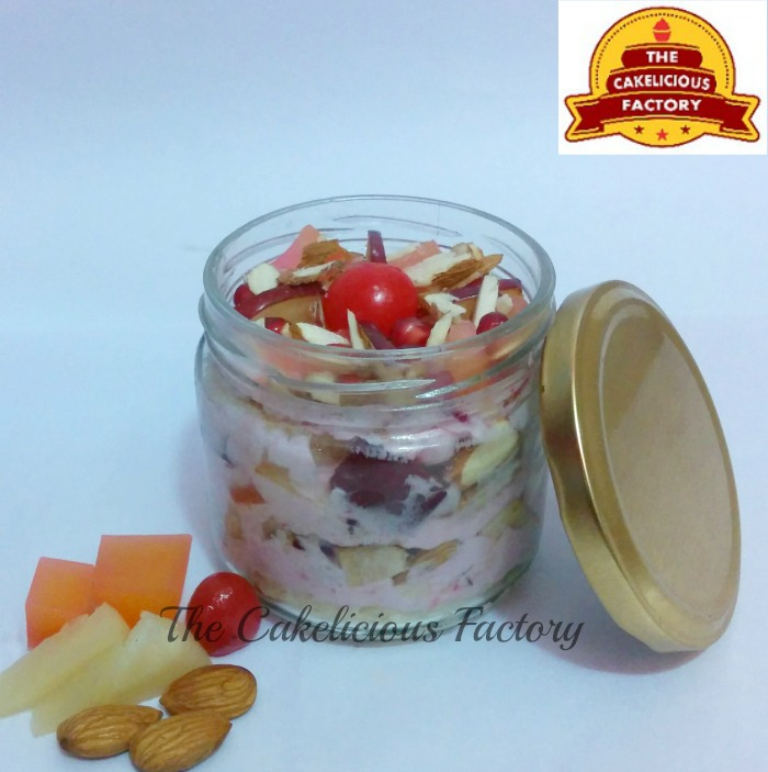 Fruit Almond Cake Jar