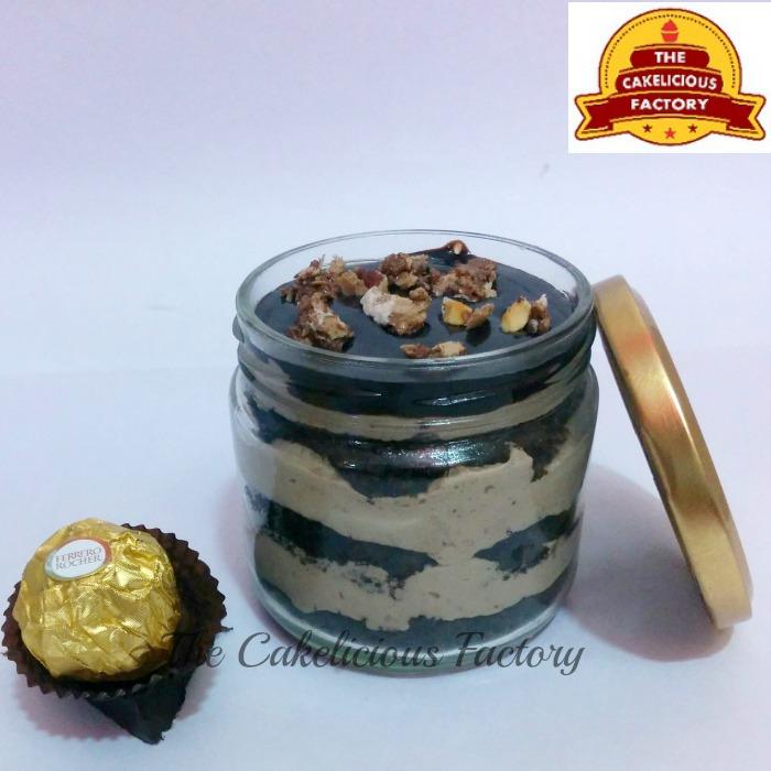 Ferrero Rocher Cake Jar