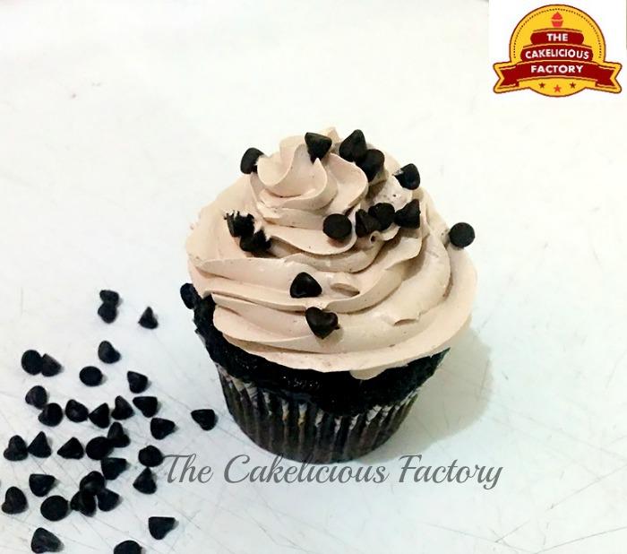 Choco Chips Cupcake