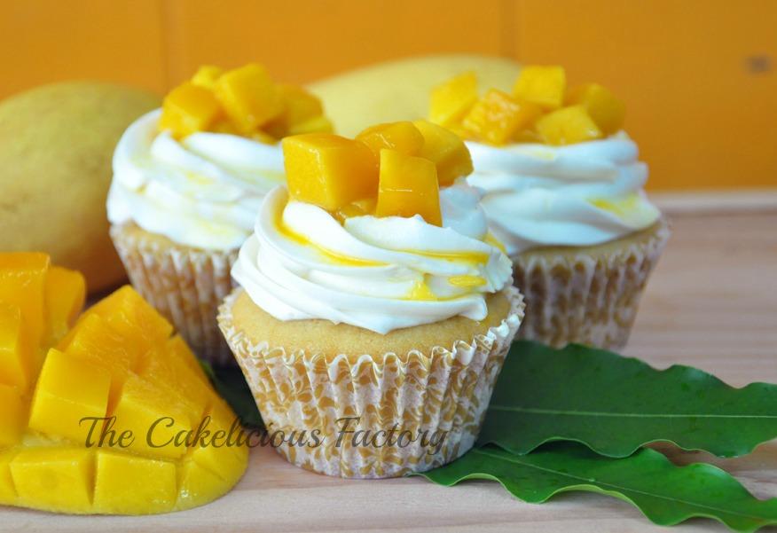Mango Madness Cupcake