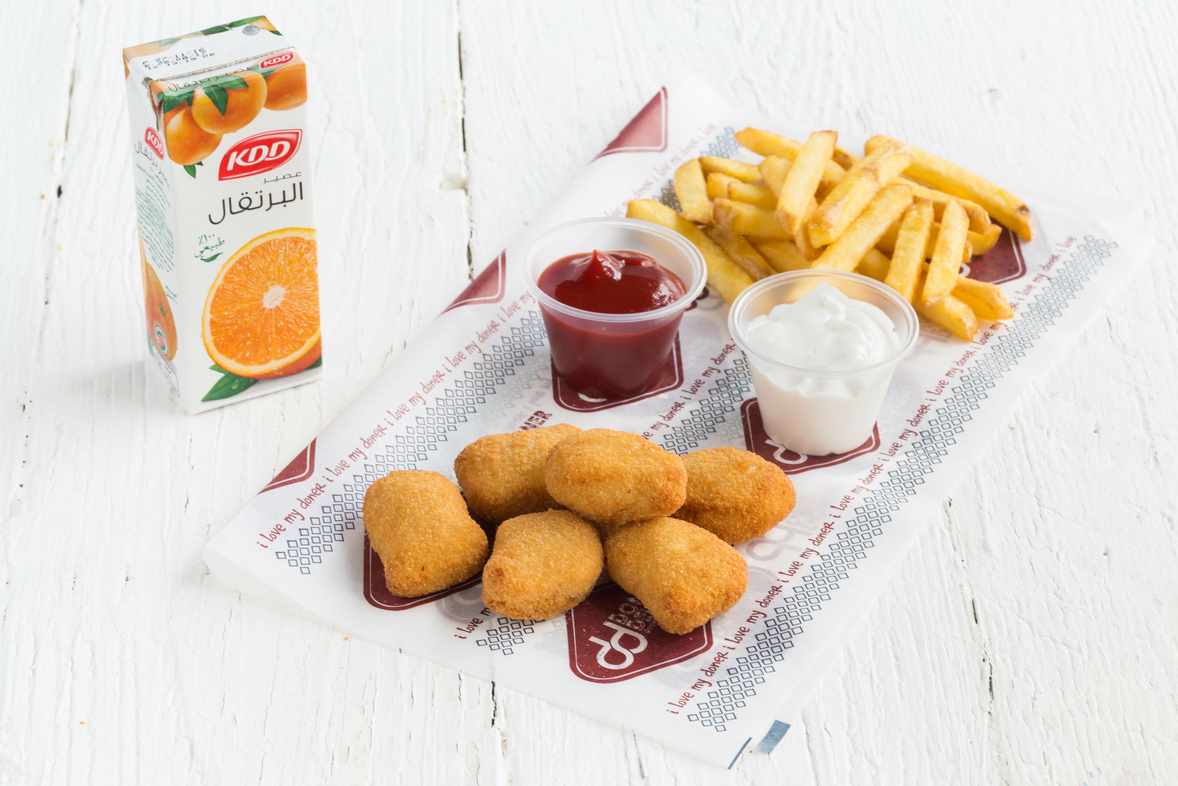 Kids Nuggets Meal (6 Pcs)