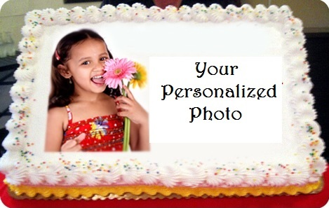 Extra Cost for Photo Cake.. Min 1 Kg cake
