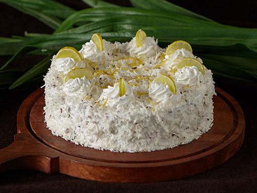 Tangy Lemon Coconut Cake