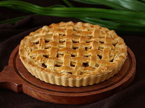 Apple Cinnamon Pie