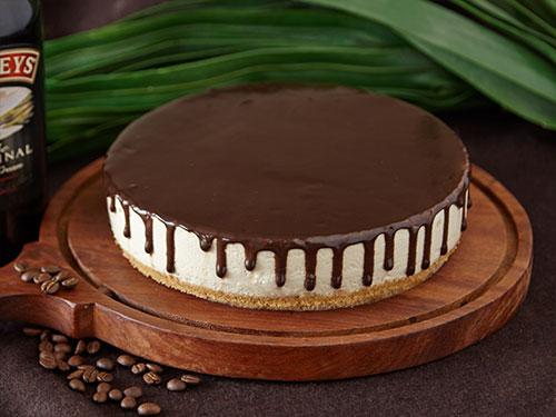 Coffee Irish Cream Cheese Cake