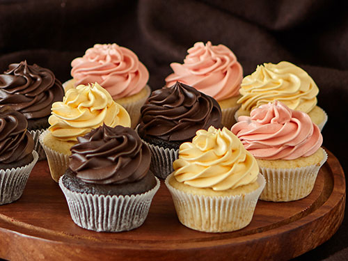 Large Cupcakes set of 5