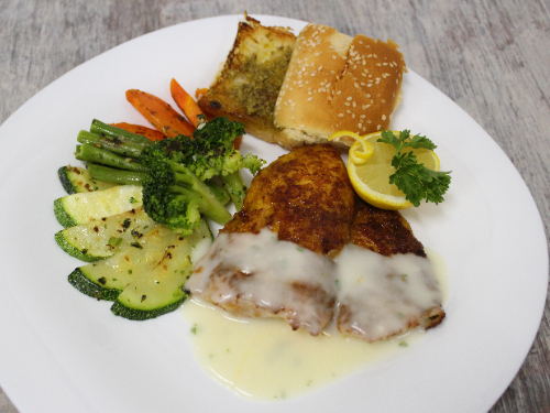Merquin Fish with Vegetables