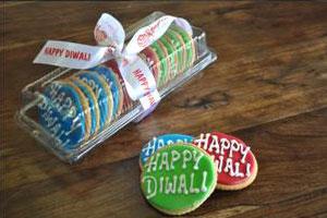 Diwali Gift Number 1 (Iced Sugar Cookies)