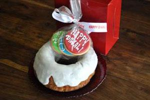 Diwali Gift Number 2 (Apple Cinnamon Cake Box)