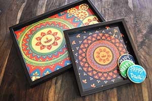 Diwali Tray Color Options