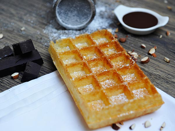 Dark Chocolate Waffle