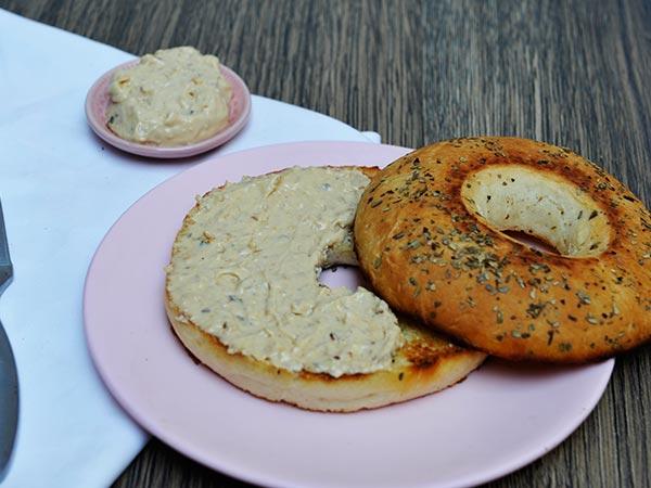 Cream & Onion Bagel