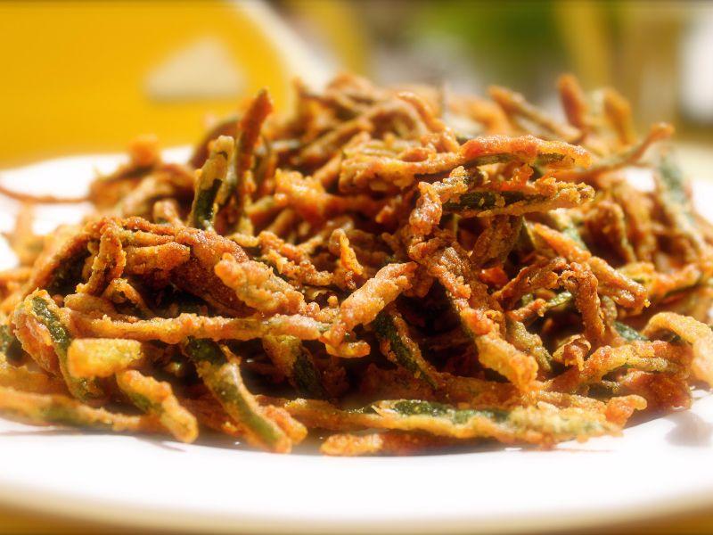 Bhindi Crispy Fry